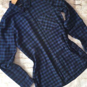 Madewell Slim Fit Flannel Shirt